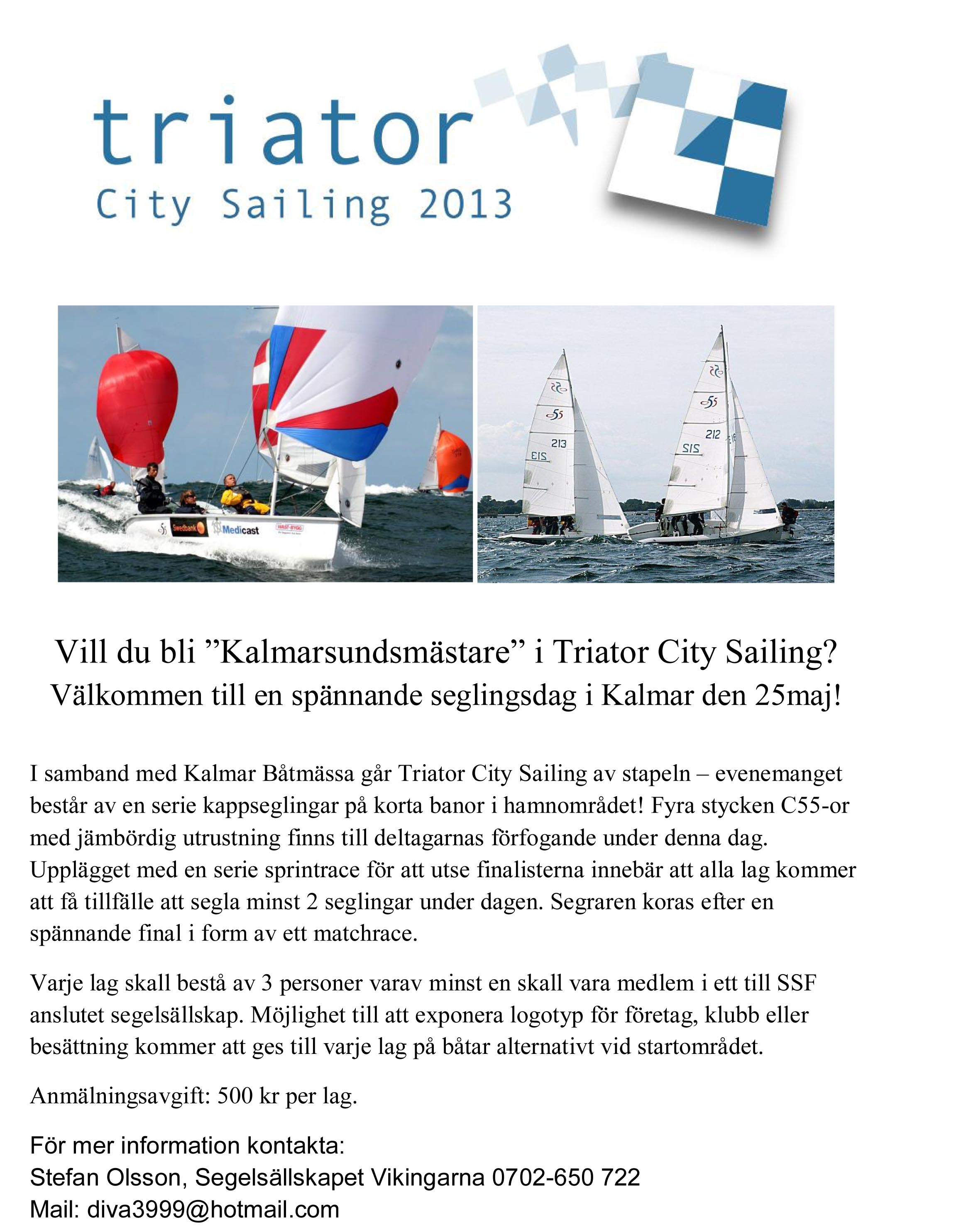Triator City Sailing